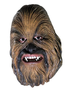 Chewbacca 3/4 maske vinyl til voksne