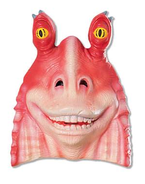 Máscara de Jar Jar Binks PVC para adulto Guerra das Estrelas