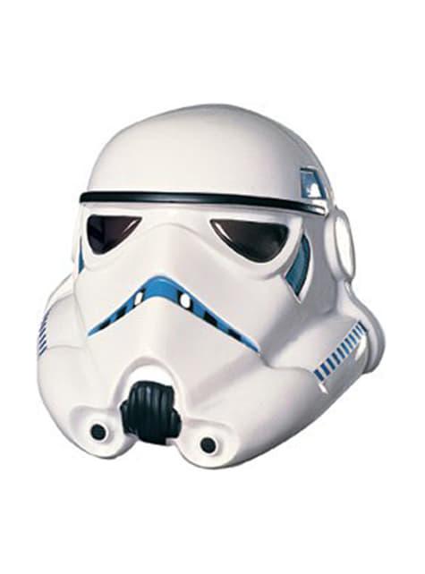 Stormtrooper 3/4 Maske für Erwachsene aus PVC