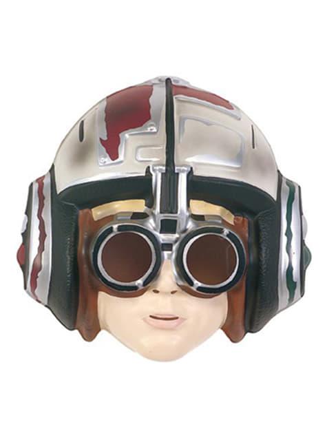 Máscara Anakin Skywalker carrera de vainas para niño