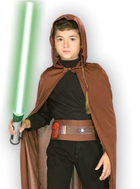 Kit disfraz Caballero Jedi para niño