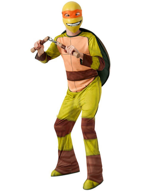 Mikey Ninja Turtles costume for a boy
