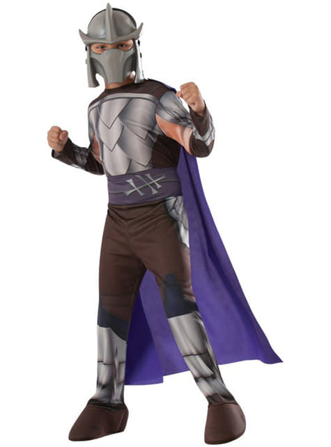Disfraz de Shredder Tortugas Ninja para niño