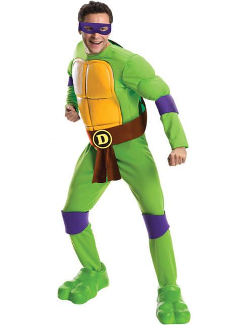 Disfraz de Donatello Tortugas Ninja para hombre