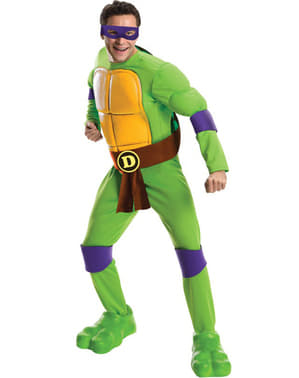 Fato de Donatello Tartarugas Ninja para homem