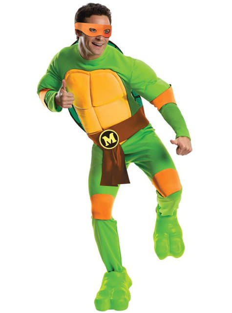 Disfraz de Mikey Tortugas Ninja para hombre