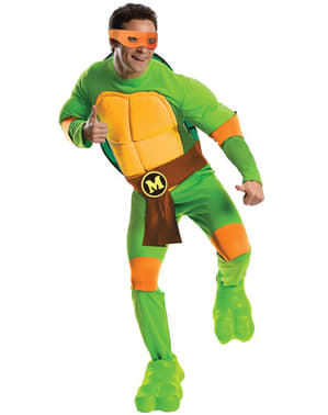 Michelangelo the Ninja Turtles Kostuum voor mannen