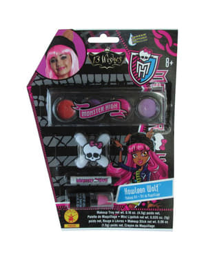 Maquillaje de Howleen Wolf Monster High