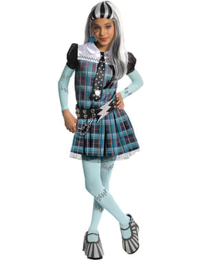 Frankie Stein deluxe kostume Monster High