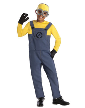 Costume da Minion Dave Gru Cattivissimo Me da bambino
