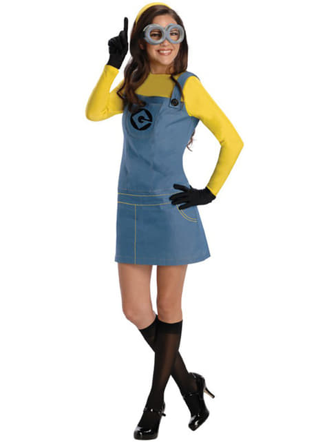 Minion Dave Despicable Me costume for a woman