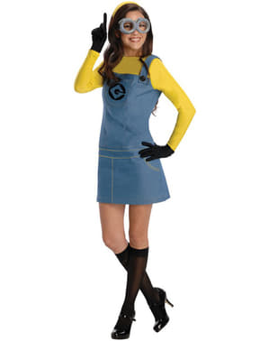 Minion Dave Grusomme Meg kostyme for dame