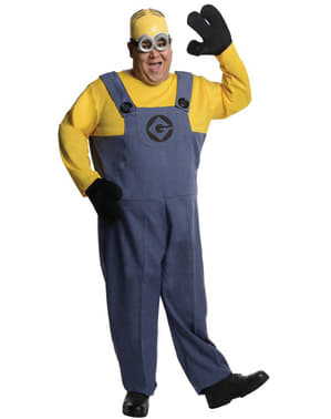 Minions Grusomme Mig Dave plus size kostume XXL