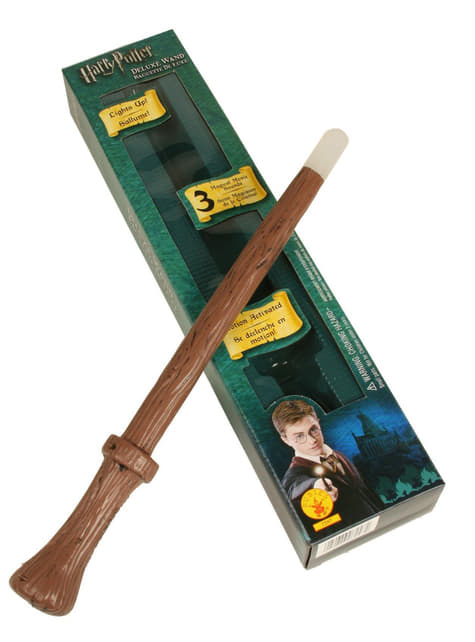 Varinha mágica Harry Potter deluxe