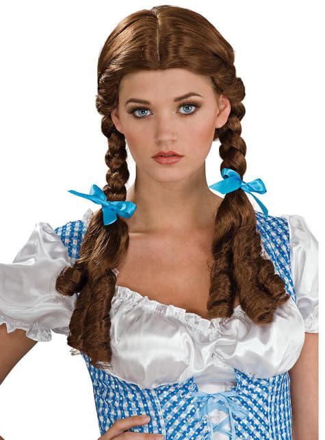 ドロシーオズの魔法使いの女性用かつら