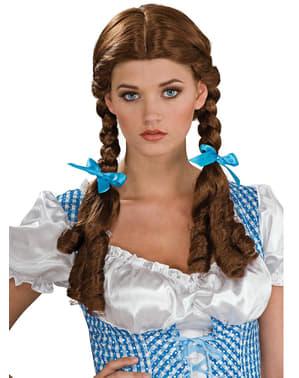 Peluca Dorothy El Mago de Oz para mujer