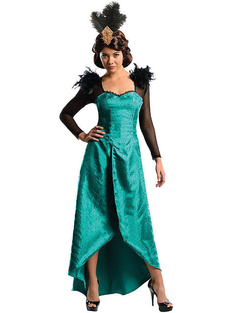 Deluxe Evanora The Fantasy World of Oz costume for a woman