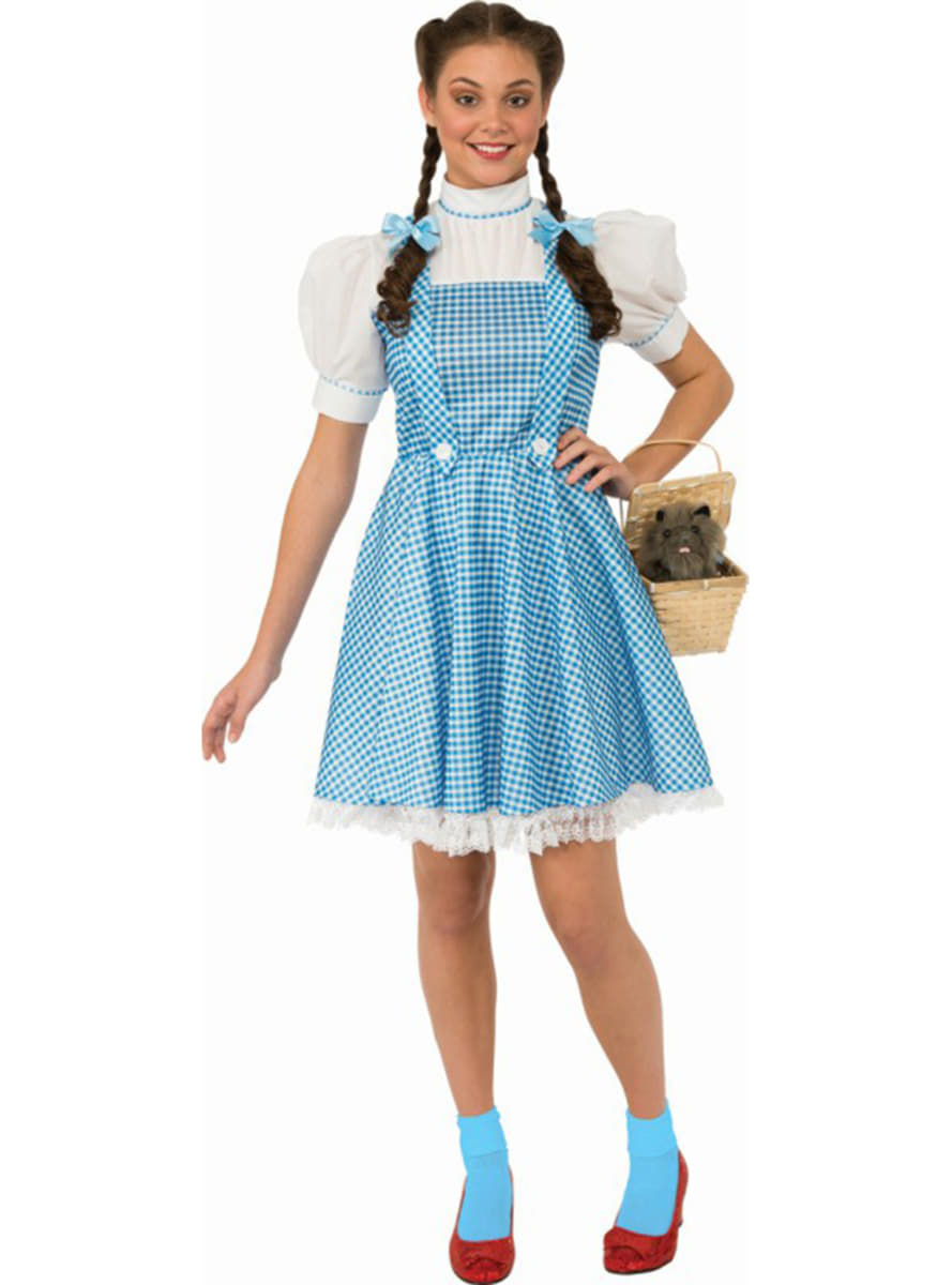 Dorothy costume for a woman