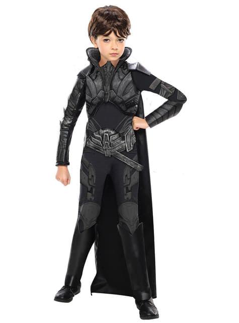 Disfraz de Faora Superman El Hombre de Acero deluxe para niña