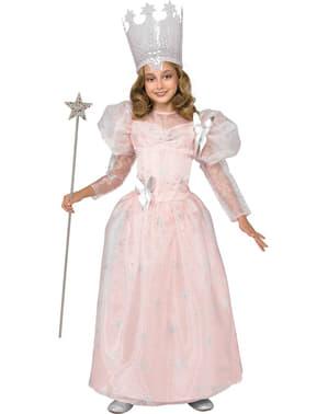 Fato de Glinda Bruxa Boa O Feiticeiro de Oz para menina
