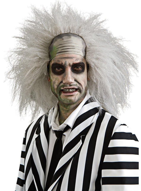 Beetlejuice wig for an adult