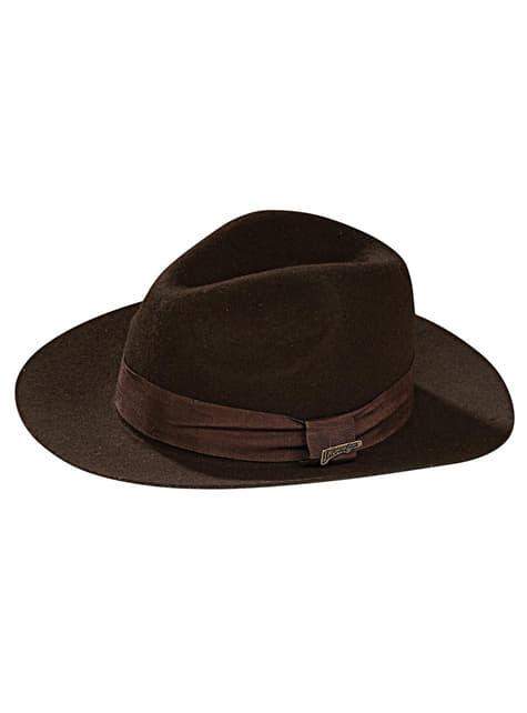 Kapelusz Indiana Jones deluxe dla chłopca