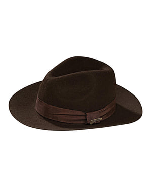 Deluxe Indiana Jones hat for a boy