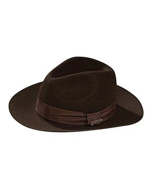 Deluxe Indiana Jones hatt for gutt