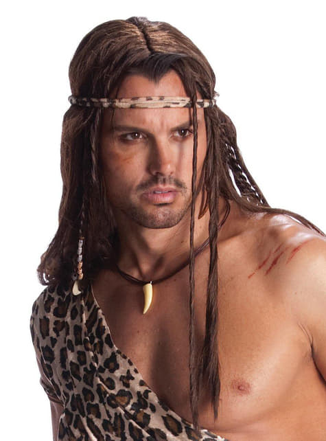 Peruca de Tarzan para adulto