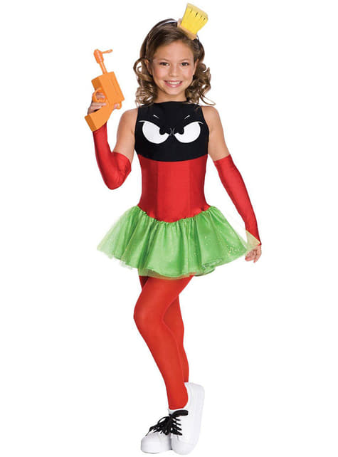 Marvin the Martian costume for a girl