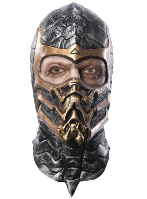 Maska Scorpion Mortal Kombat deluxe