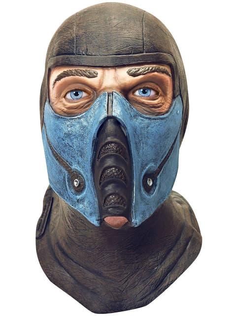 Deluxe Sub Zero Mortal Kombat mask