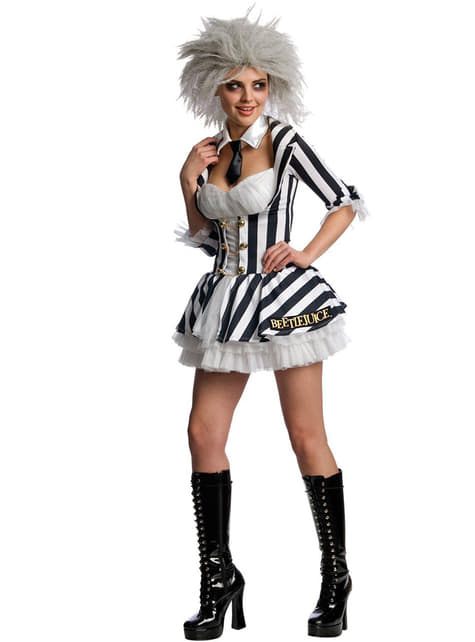 Sexy Beetlejuice costume for a woman