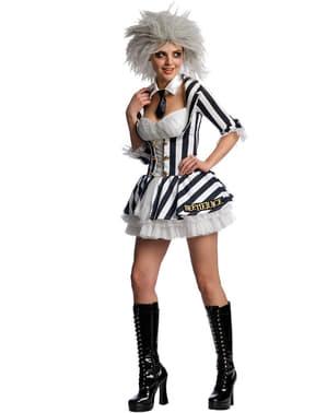 Costum Beetlejuice sexy pentru femeie