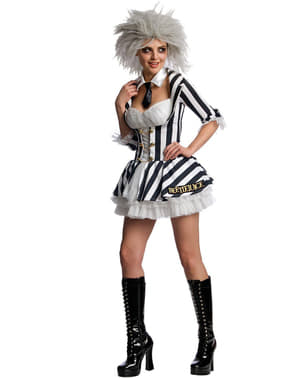 Секси Beetlejuice костюм за жена
