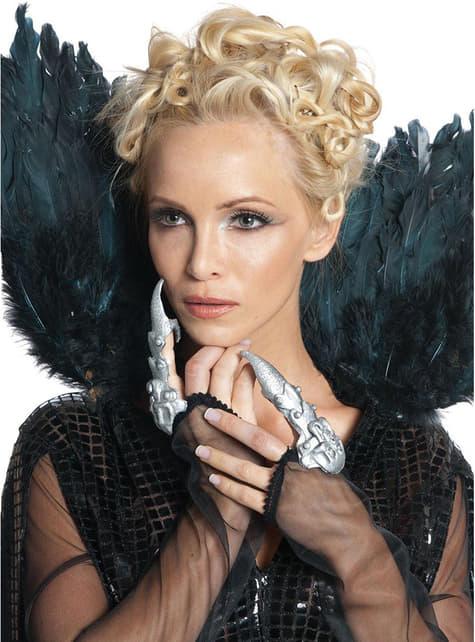 Dedos pontiagudos Rainha Ravenna A Branca de Neve e o Caçador