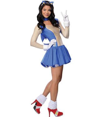 Disfraz de Sonic para mujer