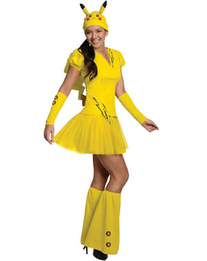 Costum Pikachu Pokemon pentru femeie