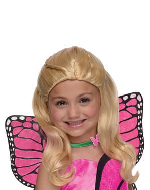 Barbie Perücke Schmetterling für Mädchen