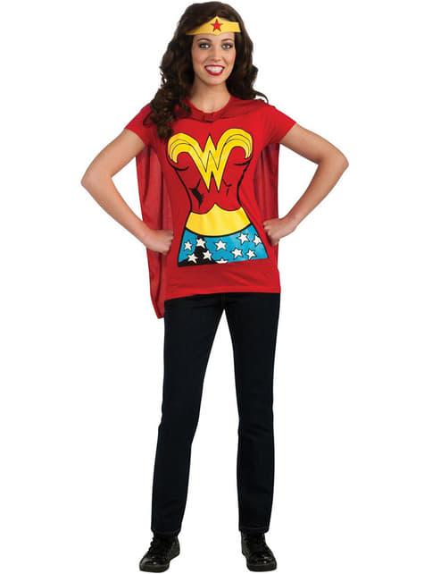 Kit disfraz Wonder Woman para mujer