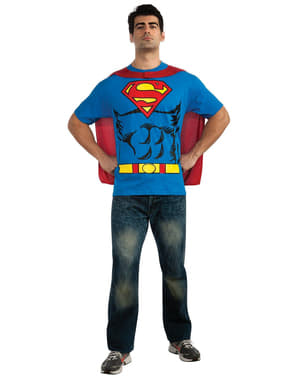 Superman costume kit for a man