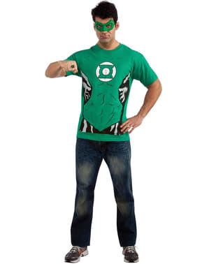 Kit disfraz Linterna Verde para hombre