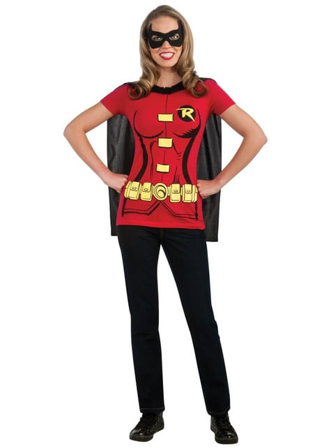 Robin costume kit for a woman