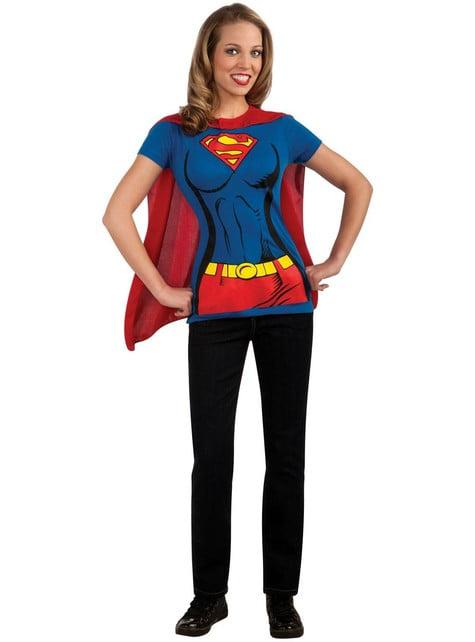 Kit fato Supergirl para mulher