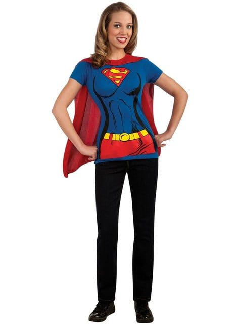 Supergirl costume kit for a woman