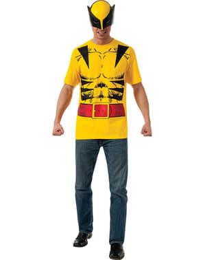 Kit fato Wolverine para homem