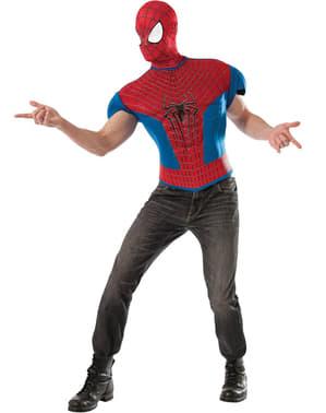 Kit fato The Amazing Spiderman 2 musculoso para homem
