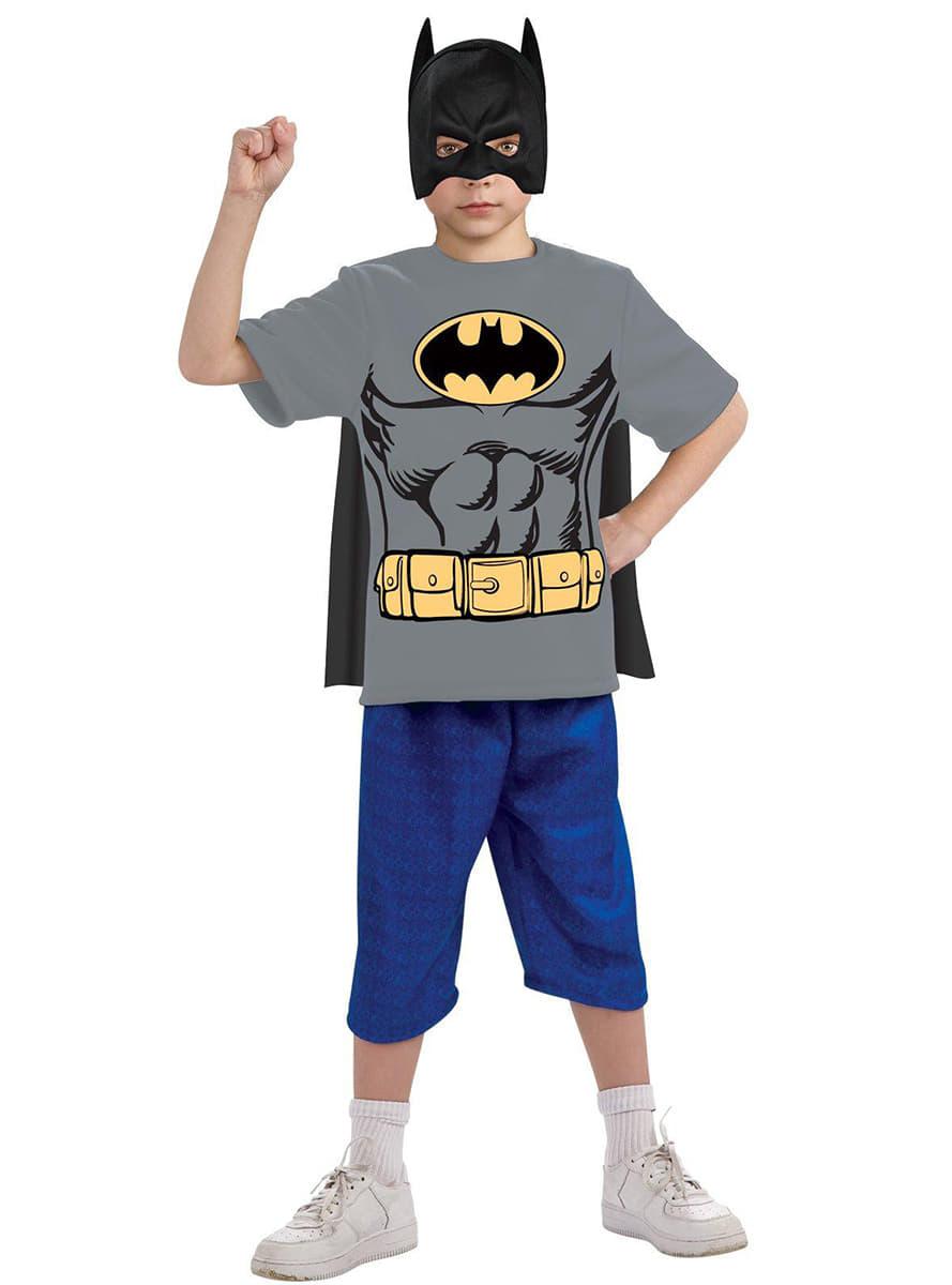 batman kost m kit f r kinder funidelia. Black Bedroom Furniture Sets. Home Design Ideas