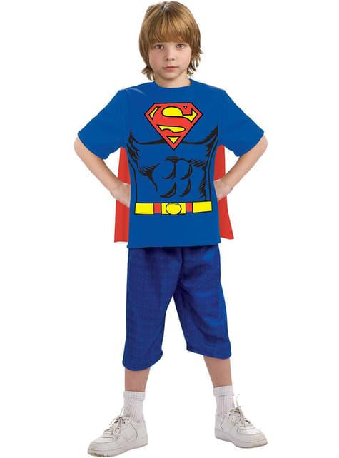 Zestaw strój Superman dla chłopca