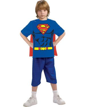 Kit disfraz Superman para niño